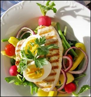 main salad frame