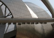 Jay Pritzker Pavillion, Chicago - roof