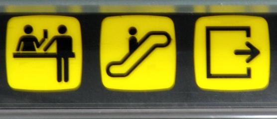 information sign.