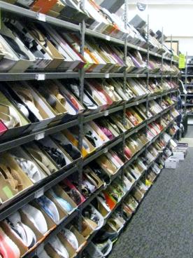 nordstroms shoe rack
