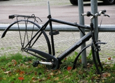 slaughted bike