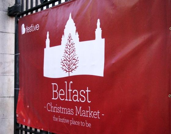 belfast festival sign