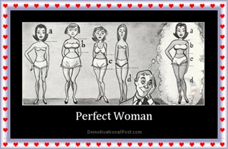 perfect woman - demotivationalpost com
