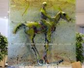 Copenhagen Airport - glass horse - October