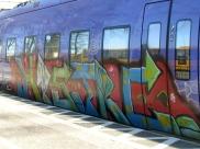 Simrishamn - train in waiting - May