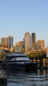 Seattle - just arrived - July