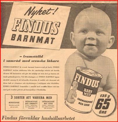 FindusBarnmat1948 - fodelsedagstidning se -