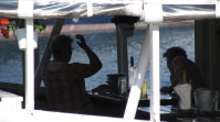 Simrishamn - lunch aboard - August