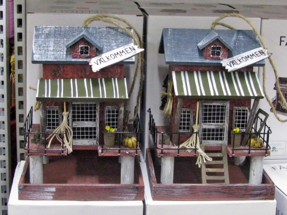 Gothenburg - birds houses - August