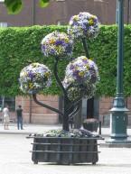 Flower Statue 1