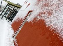 Simrishamn - winter is back - February