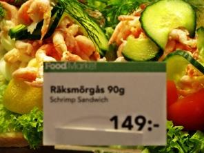 Stockholm Arlanda Airport - open sandwiches - November