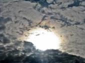 Dramatic spring sky