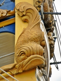 aft decoration, Götheborg