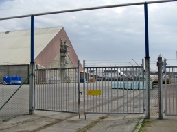 behind gates