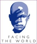 facing the world - logo