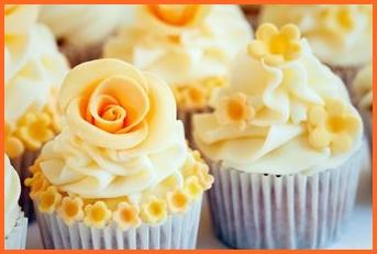 orange cupcakes - reedgourmet it