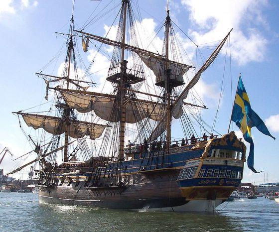 Ostindiefararen-Götheborg- maiden journey - sv.wikimedia org