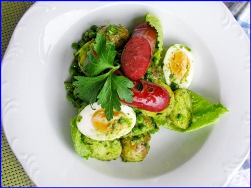 royal potato salad full plate