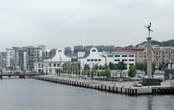 leaving Helsingborg