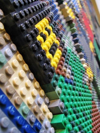 lego close up