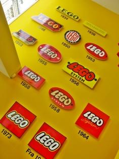 lego through times