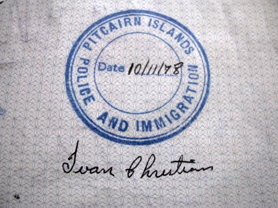 Pitcairn Island stamp