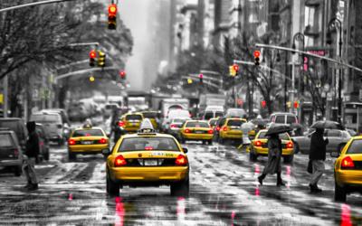 rainy manhattan - beingaudrey com