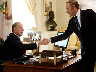 House Of Cards2012(l to r) Dan Ziskie and Kevin Spacey