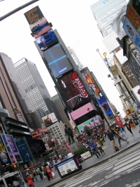 time square day time