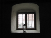 Glimminghus Castle, kitchen window
