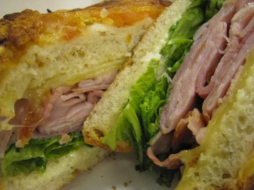 Ham & Cheese Toastie, NYC