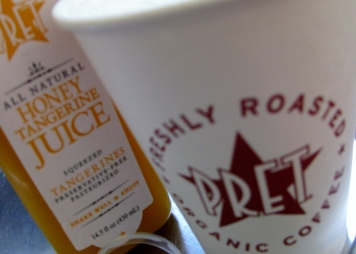 Pret breakfast NYC