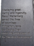 Wallenberg Monument 2