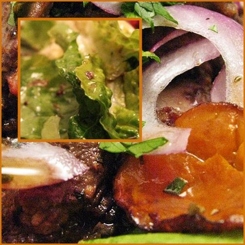 warm chicken liver salad, page 6