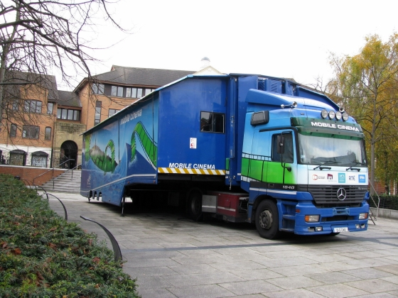 mobile cinema, belfast