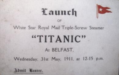 Titanic Launch