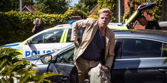 Krister Henriksson som Kurt Wallander i Den orolige mannen