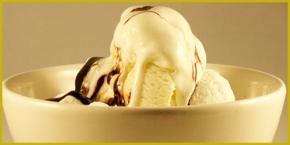 new year ice cream - framed