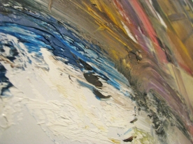 painting in close up