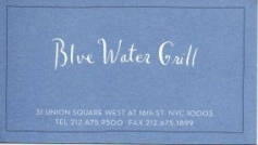blue water sign - nycbycard com