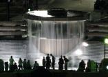 Centennial Fountain night