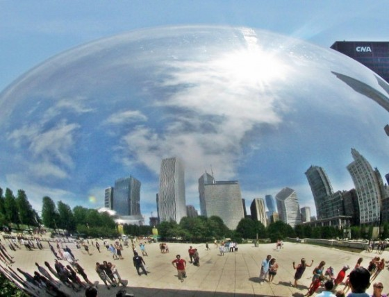 cloud gate - the bean ... chicago
