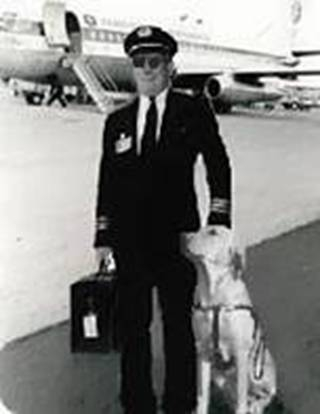 pilot with dog - activerain com