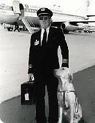 pilot with dog - activerain com