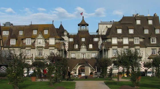 Hotel Normandy Barriere, Deauville -francerevisted com