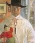 Carl Larsson, selfie - clg se