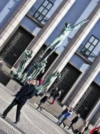 Carl Milles statue Orfeusgruppen.