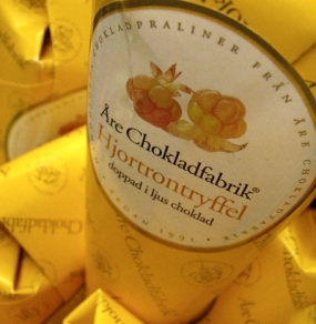 cloudberry truffles