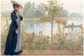karin-on-the-shore - wikipaintings org -